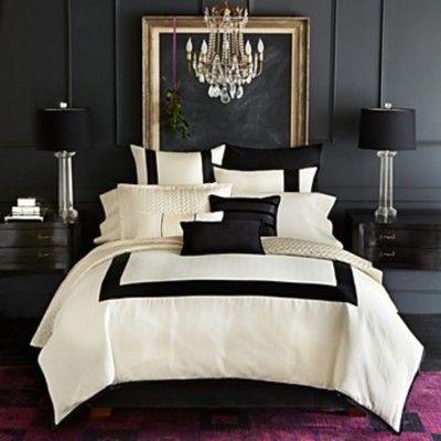 137 best black & white bedrooms images on pinterest