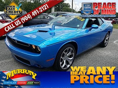 View Photos & Details of a 2015 USED DODGE CHALLENGER 2dr Coupe SXT Plus located in Starke, FL at Murray Chrysler Dodge Jeep Ram | $23,995 |