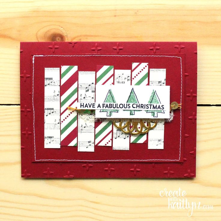 A Fabulous Stitched Christmas - Monday Montage / Create with Kaitlyn