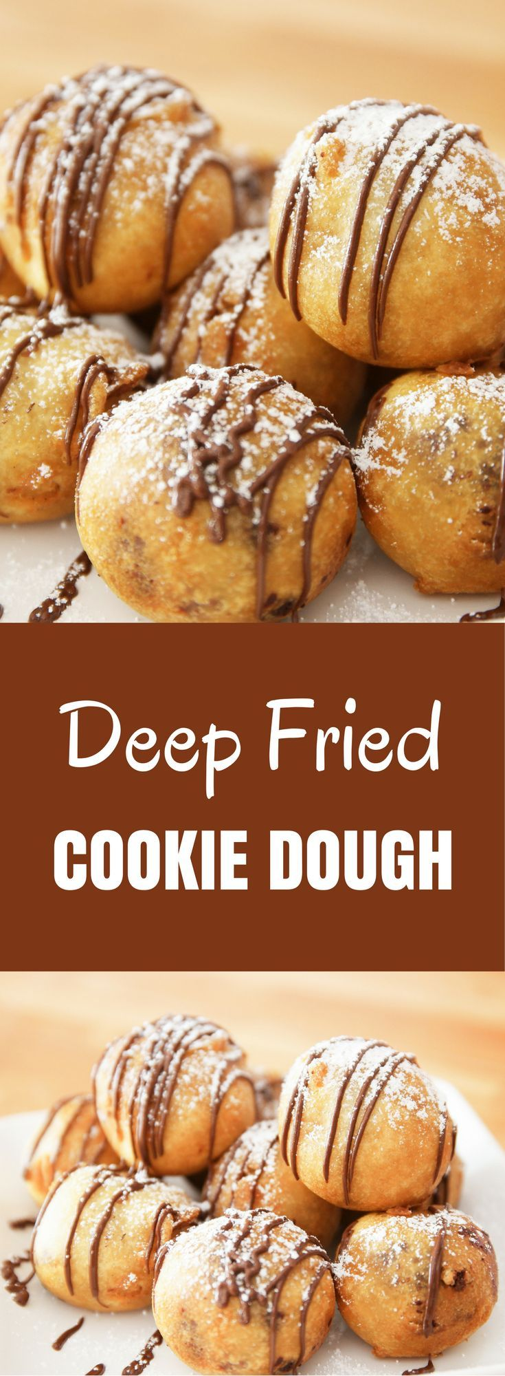 Deep Fried Cookie Dough is an unusual way to cook your favorite cookie dough. It's fun and tasty, and perfect for a special party!