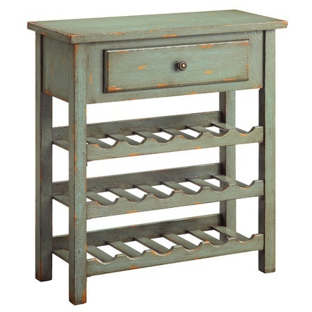 Distressed Country Wine Rack