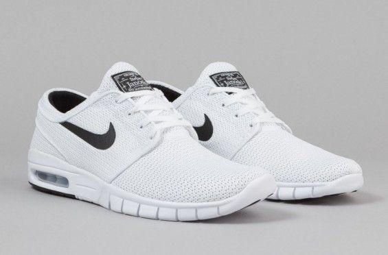 White Nike Stefan Janoski Max