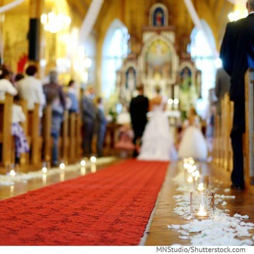 Kirchliche Trauung - ist heute wieder sehr wertvoller Bestandsteil der Eheschließung