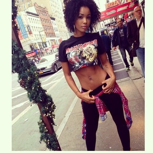 271 best images about gangsta swag on pinterest girl swag bad girls and urban fashion - Mixed girl swag ...