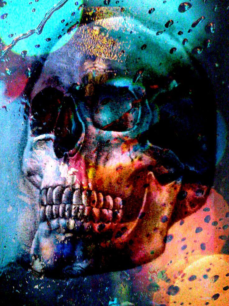 Rainy skull