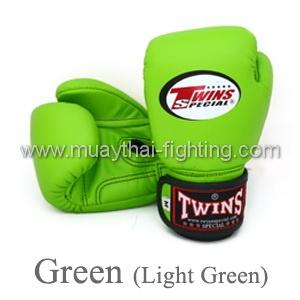 Twins Special Muay Thai Kid's Boxing Gloves KID-BGVL-3-Green US$31.95