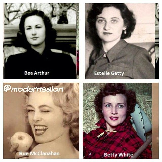 Before they were golden girls