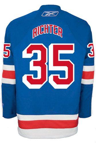 15c9e4031 ... New York Rangers VINTAGE Mike RICHTER 35 Official Home Reebok Premier  Replica NHL Hockey Jersey ...