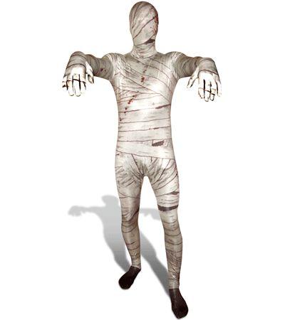 Originele morphsuit mummie bij Fun-en-Feest.nl. Online Kostuums dames bestellen, levering uit voorraad. Originele morphsuit mummie voor � 49.95.