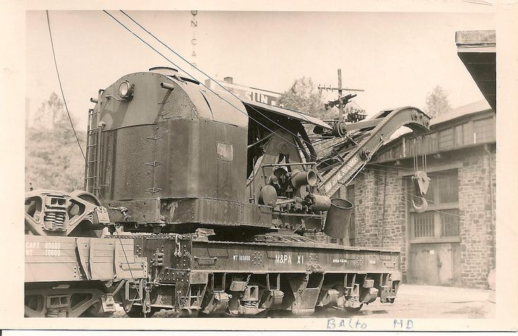Maryland and Pennsylvania Railroad Crane, steam operated ?