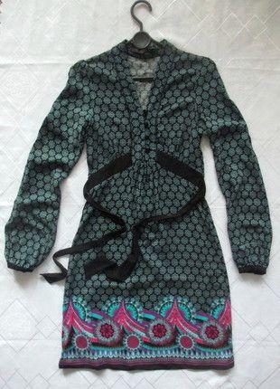 Next - sukienka we wzory folk boho jak nowa - 34 Kup mój przedmiot na #vintedpl http://www.vinted.pl/damska-odziez/dlugie-sukienki/11218884-next-sukienka-we-wzory-folk-jak-nowa-34
