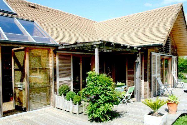 Maison en bois à vendre en Seine-Maritime 76 Rouen - écologique géothermie CESI