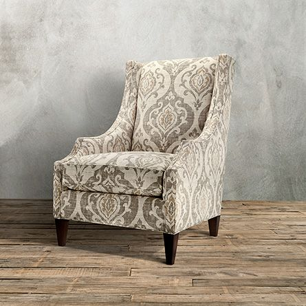 Plazza Upholstered Chair In Raffia Arhaus Furniture