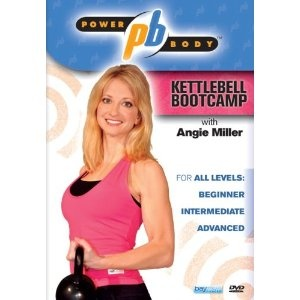 (Power Body: Kettlebell Bootcamp with Angie Miller (2009)) AMAZING workout!! I am a big fan of workout DVD's. I love the tough ones like Jillian Michaels. I recently discovered kettle bells and was doing the Jillian Michael's workout, but it was only 25... [Click for more info]