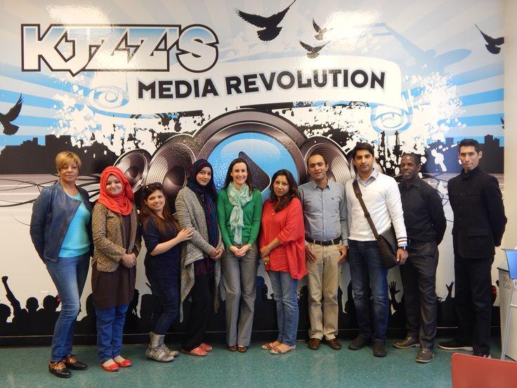 Radio Program from Pakistan at #SPOT127  #IVLP from Pakistan #GlobaltiesArizona