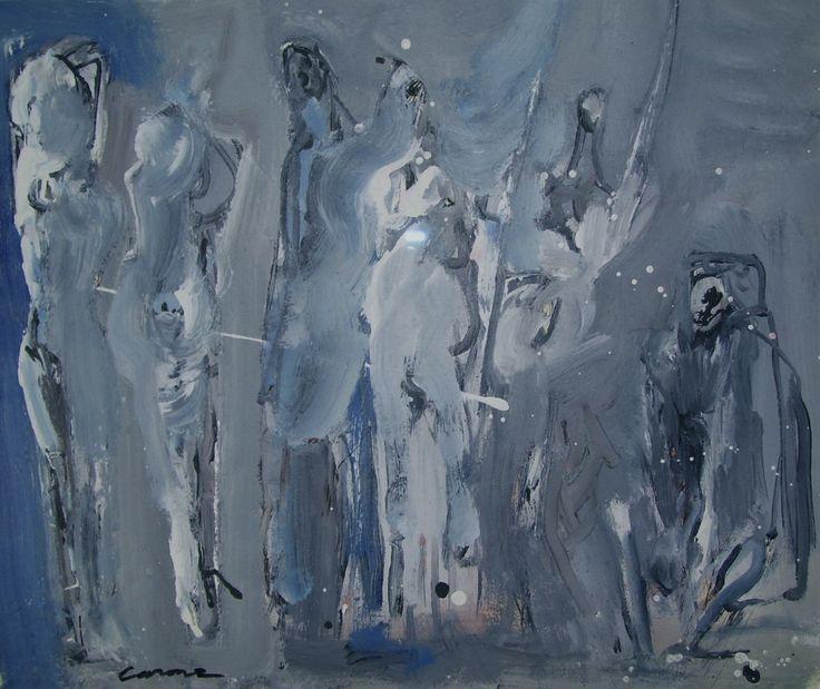 Nicolas Carone, 1954