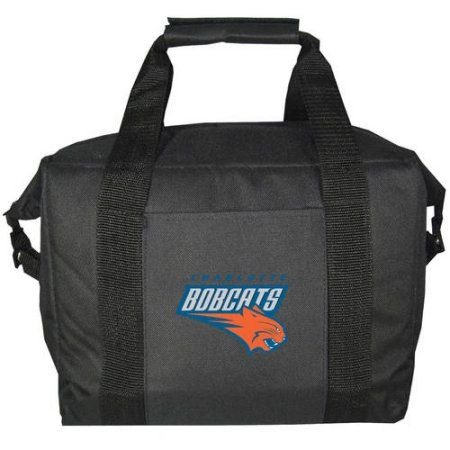 NBA Charlotte Bobcats 12-Pack Kooler Bag, Black