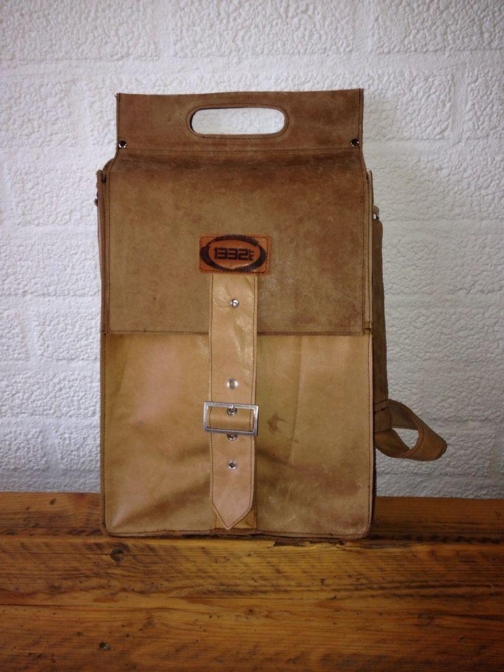 Ladies bag, made of sofa leather