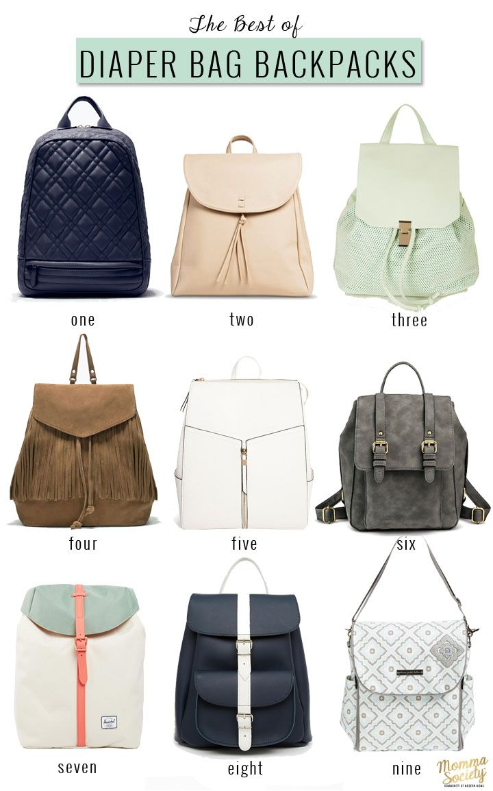 How To Pack The Perfect Diaper Bag Best Of Momma Society Pinterest Baby And Backpack