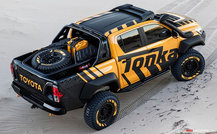 Toyota Unveils Life-Size Tonka Truck