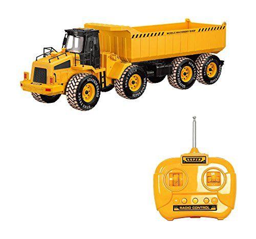 Camión RC Obra y construcción 1:18 ⋆ Etoytronic⚡️
