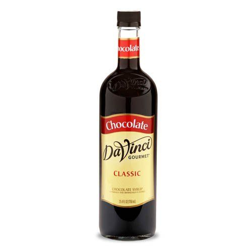 Da Vinci Chocolate Syrup, 750 ml Bottle (Glass) ** Wow! I love this. Check it out now!