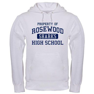$38.99 Cafepress Property of Rosewood Sharks High School Hoodie  http://pretty-little-liars-books.com/cafepress-property-rosewood-sharks-high-school-hoodie/