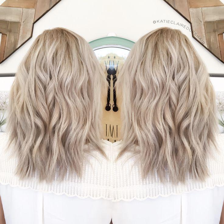 Ashy blonde// olaplex // ash blonde // cool blonde