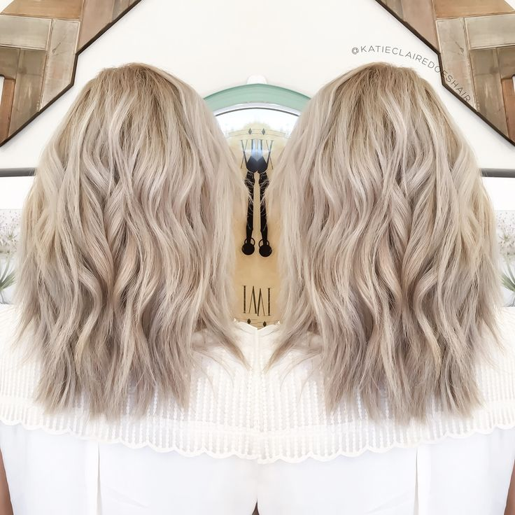 Ashy Blonde Olaplex Ash Cool Pretty In 2019 Hair Color