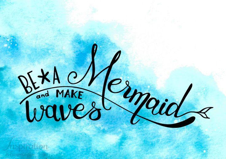 Best 25+ Mermaid Quotes Ideas On Pinterest