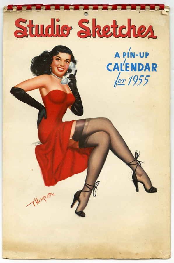 Pin Up Calendar Vintage : T n thompson vintage pinup girls pinterest pin up