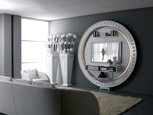 #excll #дизайнинтерьера #решения Очень оригинальное решения для дома - тумбы под телевизор | Excellence Group - решения