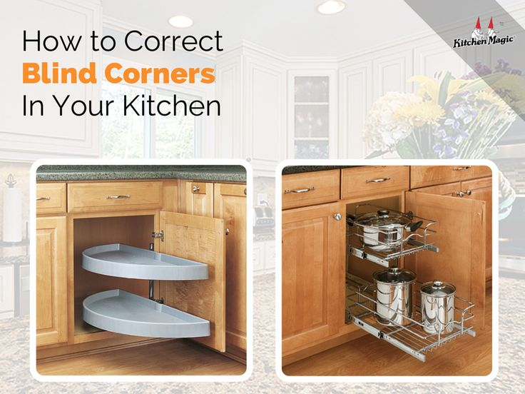 How to correct blind corners in your kitchen blog tips for Blind corner kitchen cabinet ideas