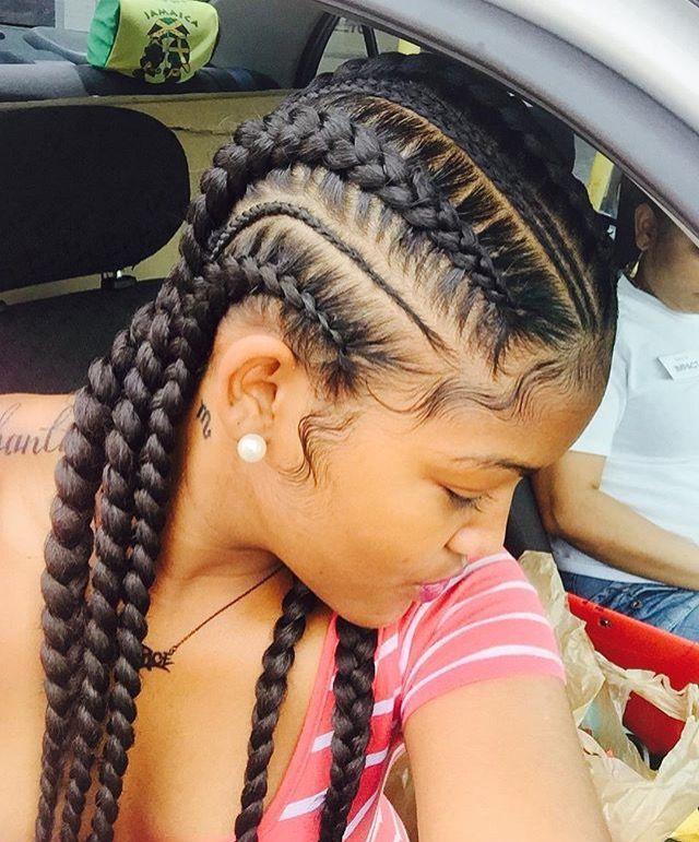 Pleasant 1000 Images About Straight Back Braided On Pinterest Goddess Short Hairstyles For Black Women Fulllsitofus