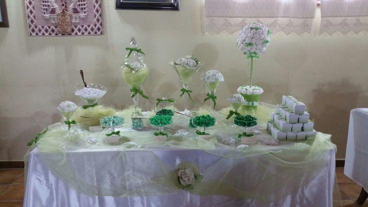 Confettata verde