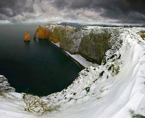Этрета, Нормандия, Франция