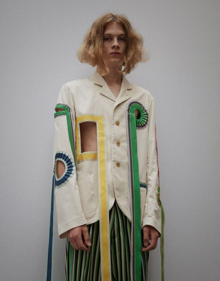 walter van beirendonck's brutal beauty for spring/summer 17 | look | i-D Women, Men and Kids Outfit Ideas on our website at 7ootd.com #ootd #7ootd