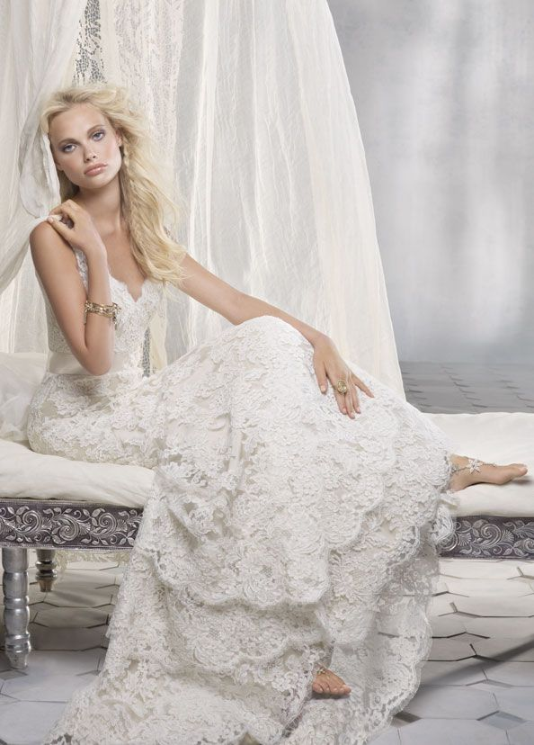 42 best Wedding dress ideas images on Pinterest | Wedding frocks ...