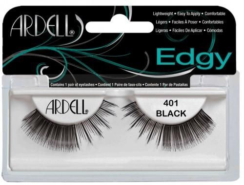 The New Edgy 401 Lashes are a unique combination of natural strip lashes with accent edges   #Eye #EyeLashes #EdgyLashes #Ardell #ArdellEdgyLashes #ArdellEyeLashes    http://www.eyelashesunlimited.com/