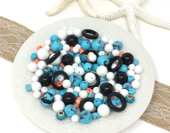 Mix Lot Of Vintage Beads