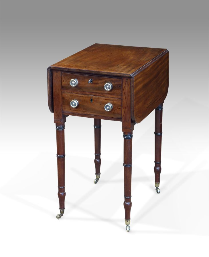 1000 ideas about antique sewing tables on pinterest. Black Bedroom Furniture Sets. Home Design Ideas