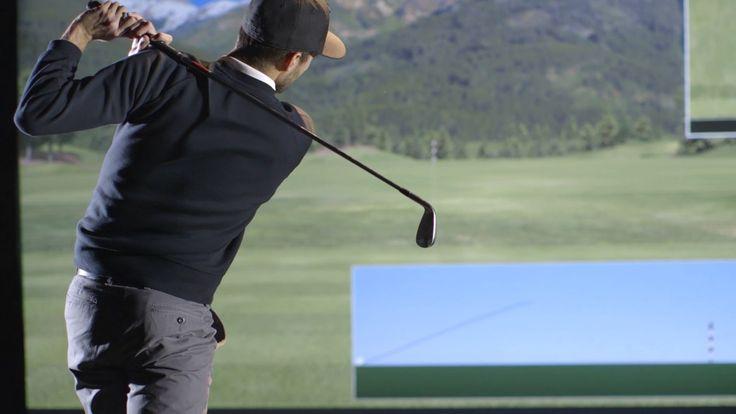 Vista Golf Simulator by TruGolf featuring E6Golf Software.