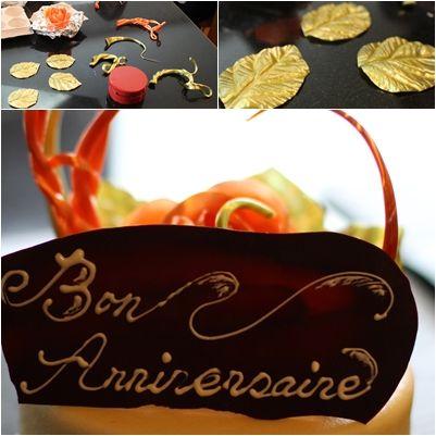 パリセヴェイユのお菓子教室 お誕生日ケーキ : Airym