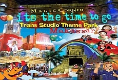Makassar Family Fun Tour Packages, including Trans Studio Indoor Theme Park Makassar, south sulawesi, indonesia