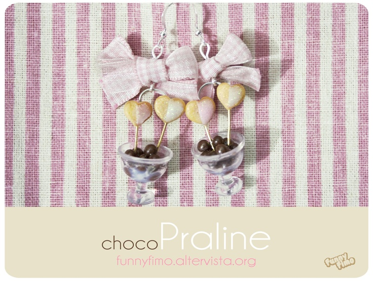 ChocoPraline earrings, so sweet! ^_^