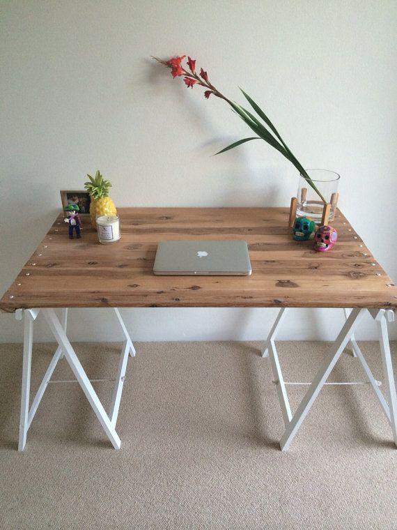 Trestle Table 120cm: Removable Top