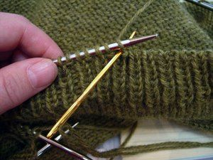 Invisible bind off...