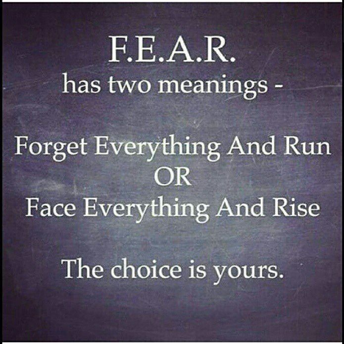 God doesn't give you a spirit of fear but one of power love and a sound mind! Rise up warrior!! by mrschristyjones