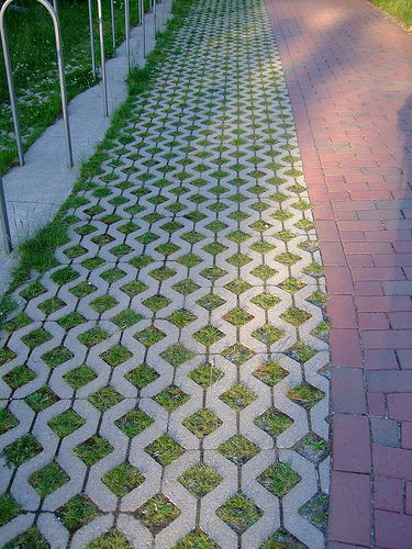 Cement Ideas For Backyard cement cobblestone Cement Driveway Alternative