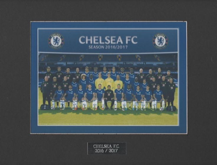 #Chelsea f.c. #colour team #picture 2016/2017 free post uk ,  View more on the LINK: 	http://www.zeppy.io/product/gb/2/391629375203/